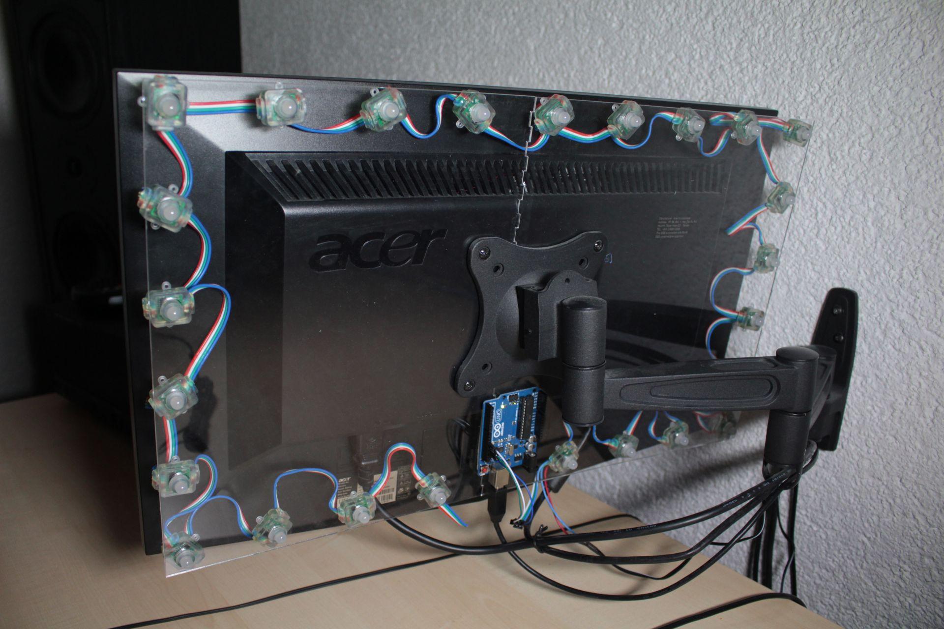 lichtspielerei mit arduino und ledhalterung aus dem lasercutter fablab rothenburg. Black Bedroom Furniture Sets. Home Design Ideas