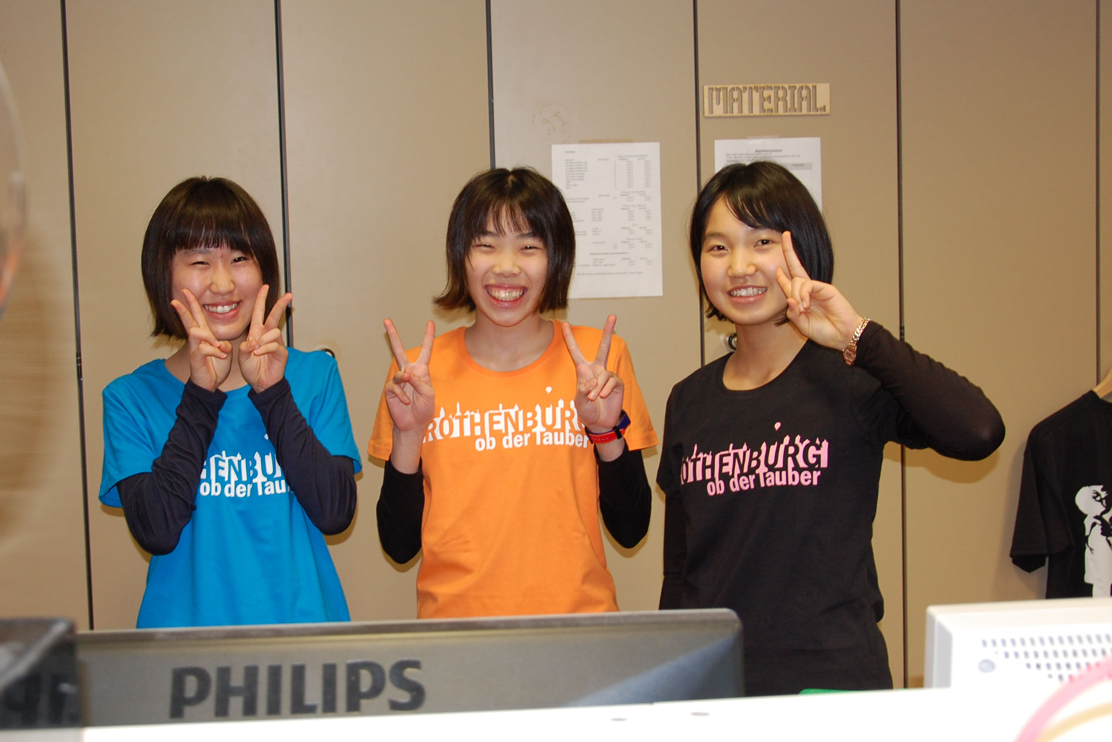 Die neuen T-Shirts