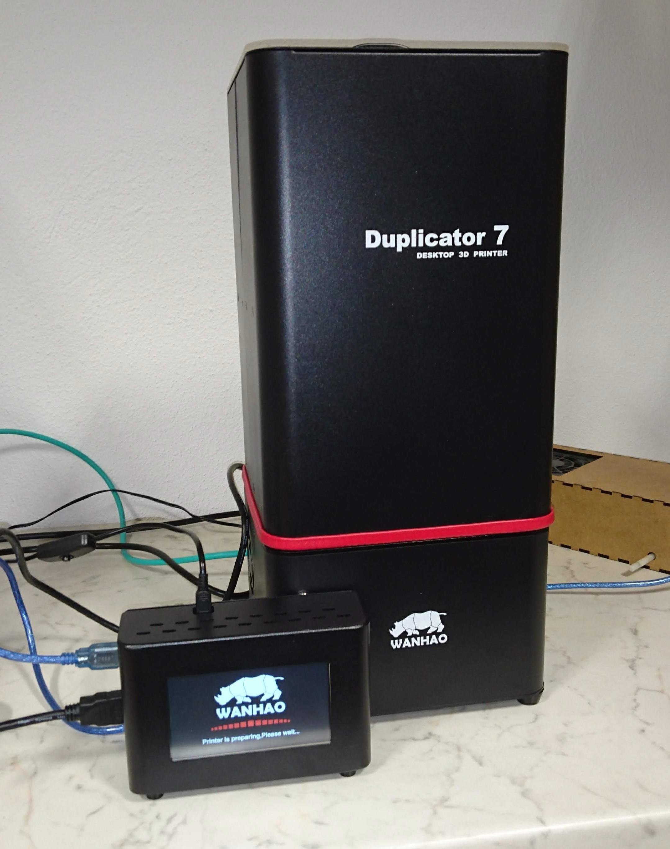 Wanhao Duplicator 7 mit Abdeckung