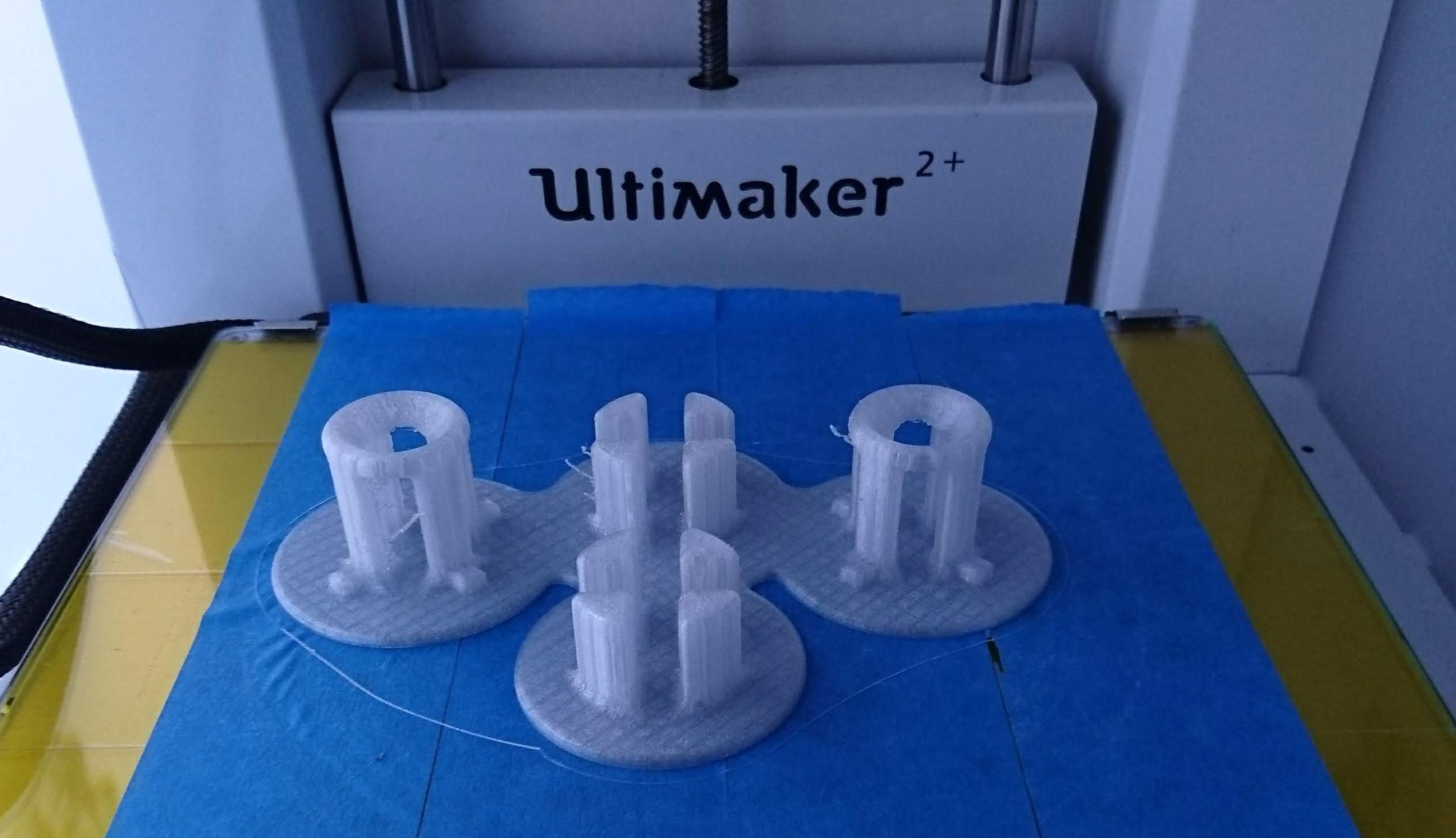 Flaschentrockner im 3D-Drucker