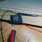 Das D1 Mini-Modul zur LED-Steuerung und Zeitsynchronisation